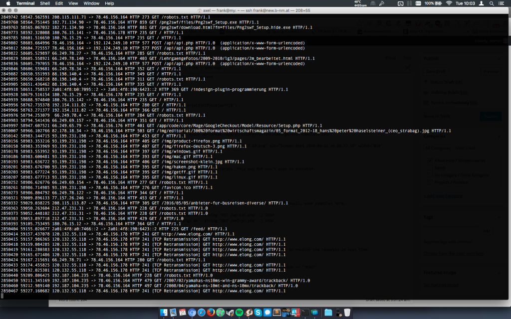 Hardening Wordpress Tshark Decrypting Ssl Traffic Baumis Blog